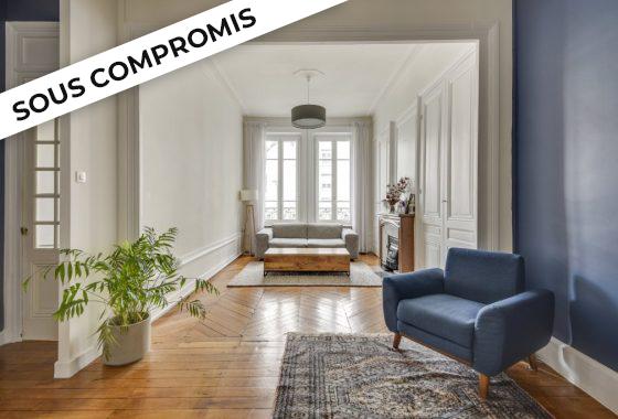 vendre appartement rénové sur Lyon 6éme par Immobilière des Brotteaux